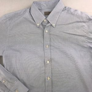 CANALI BUTTON DOWN LONG SLEEVE SHIRT XL